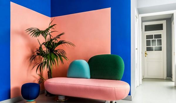 Mang xu hướng color block vào thiết kế ngôi nhà của bạn