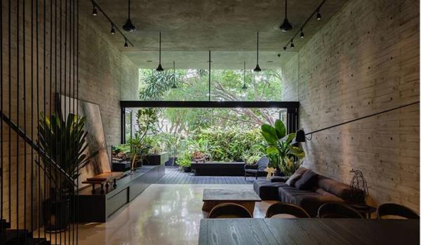 Biophilia: thiên nhiên trong thiết kế kiến trúc và không gian nhà ở