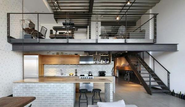 Phong cách thiết kế Industrial (công nghiệp) trong nội thất
