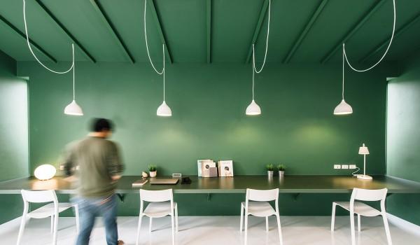 Xu hướng mang sắc xanh vào trong không gian nội thất