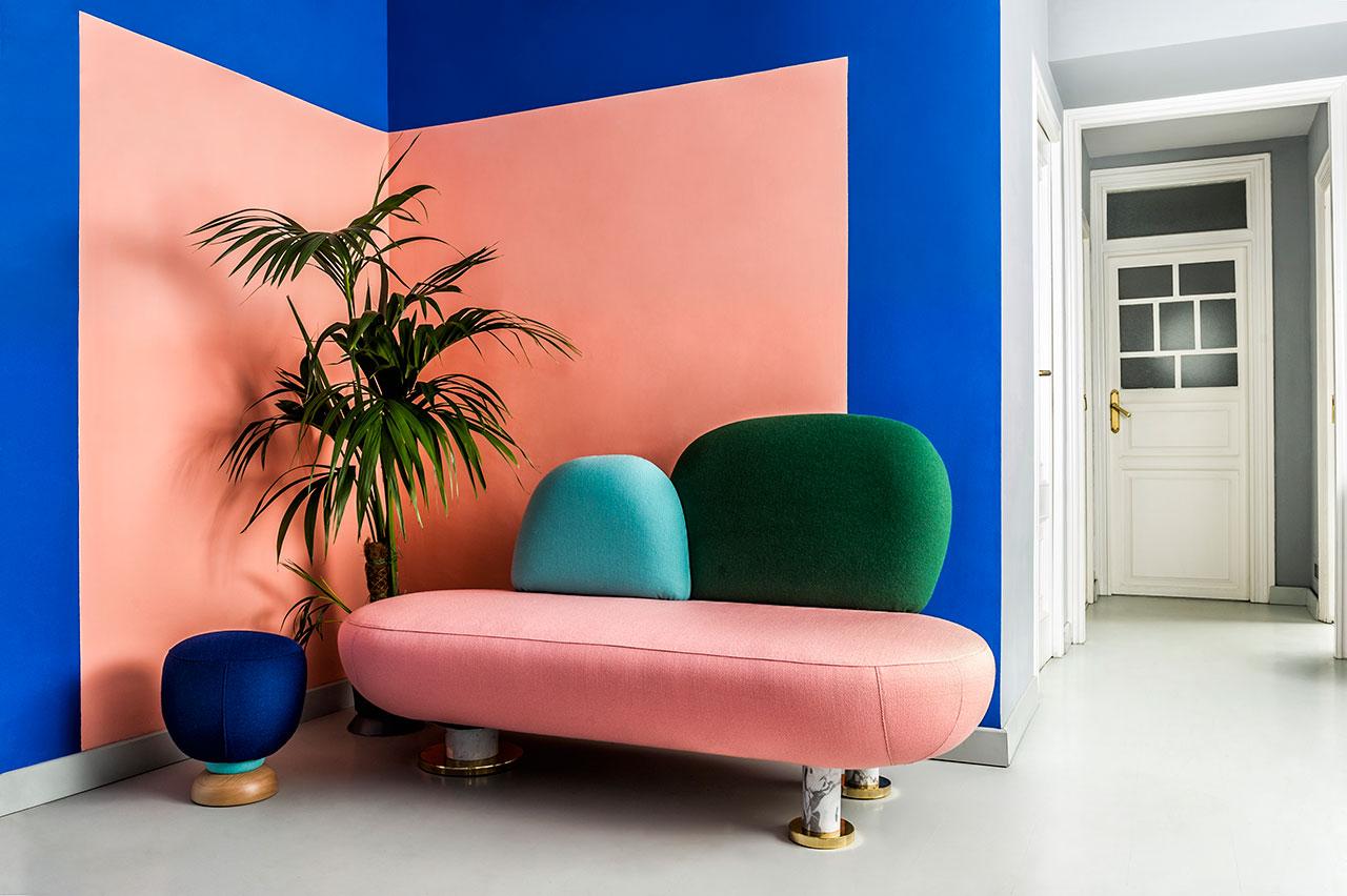 Mang xu hướng color block vào thiết kế ngôi nhà của bạn - Thiết kế nhà đẹp  Đà Nẵng David Việt